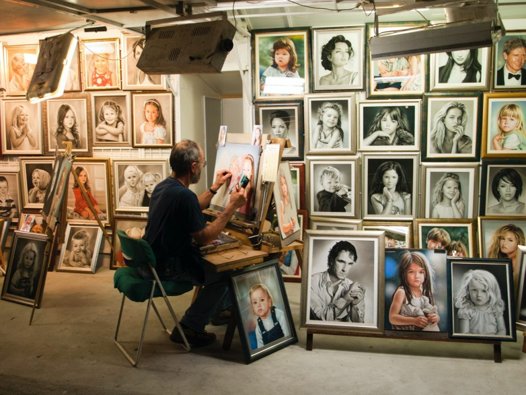 Schilderles Den Haag